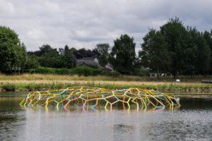 Wernher BOUWENS (Pays-Bas) :: Étang Saint-Éloi, Montauban de Bretagne